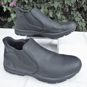 SKECHERS Classic Fit Slip On Boot Black 9.5